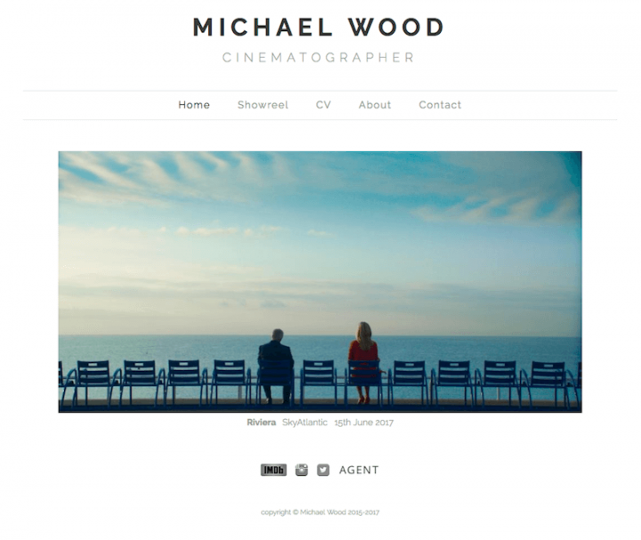 Michael Wood Cinematographer Website