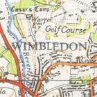 Map of Wimbledon